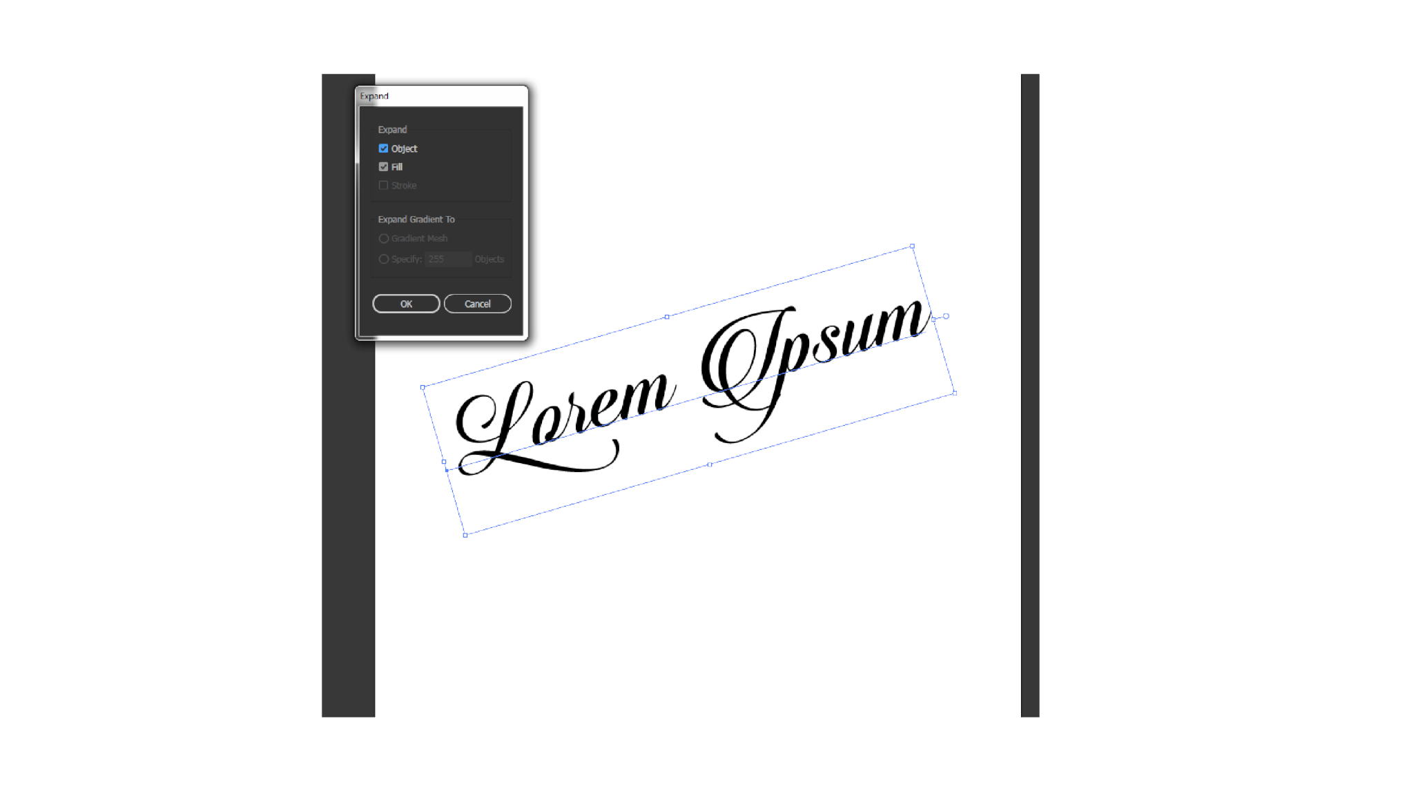 Converting text into object in Adobe Illustrator, learn how to sell vectors on Shutterstock.