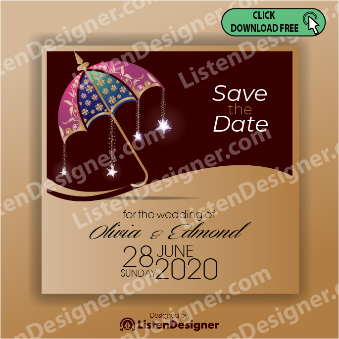 SAVE THE DATE TEMPLATE 7 SAVE THE DATE TEMPLATE 6 free download vector eps
