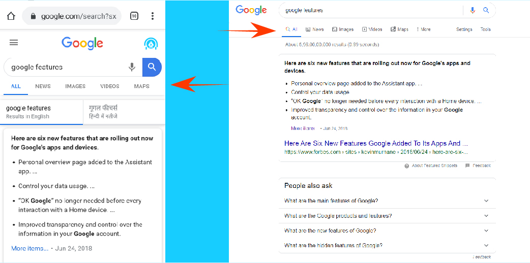 how to use google desktop site on mobile
