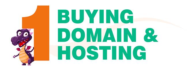 Buying domain & hosting - blogging for beginners