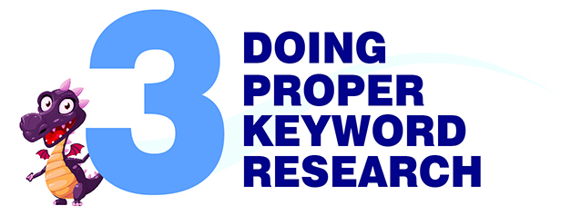 doing keyword research - blogging for beginners