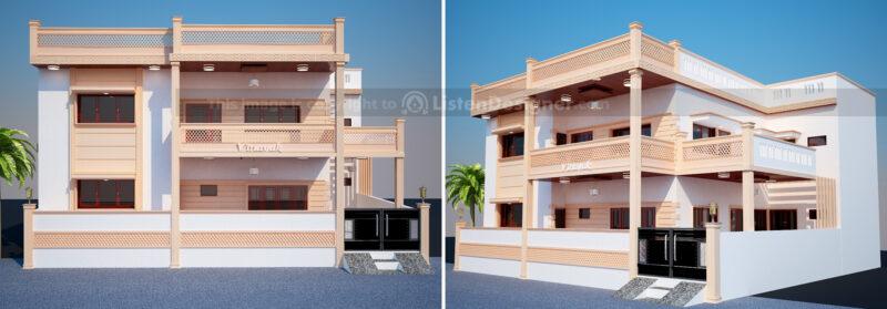 house front design indian style - Jodhpur Stone House c