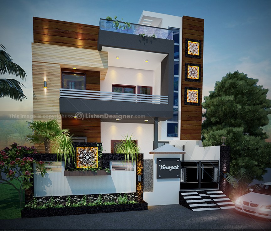 The Amazing House Front Design Indian Style Listendesigner Com