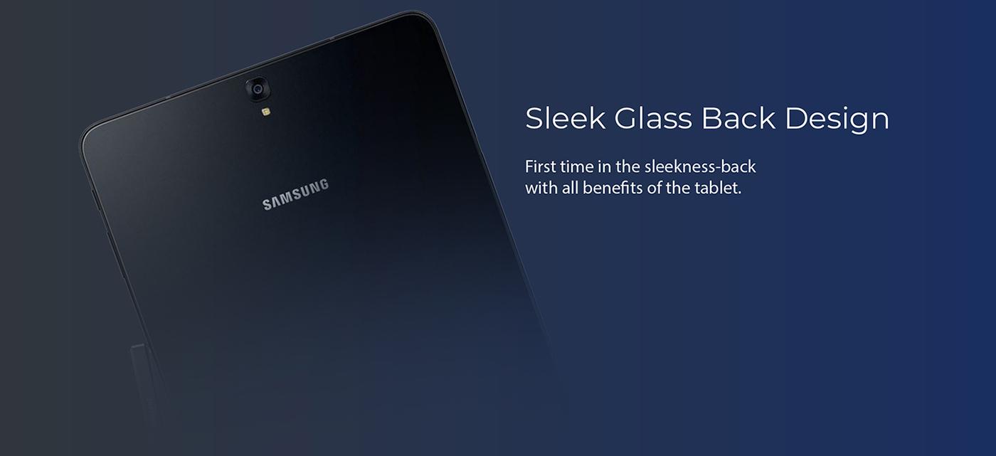 Sleek Glass Back Design