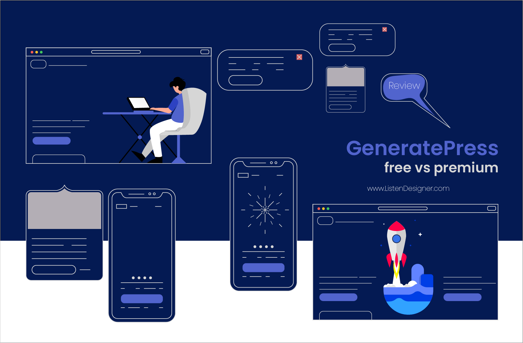 generatepress review free vs premium feature image
