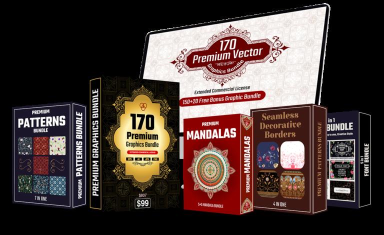 Premium vector graphic bundle