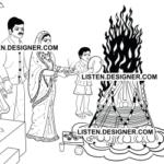 clip art of wedding holi