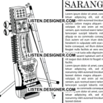 clip art of wedding sarangi