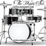 clip art of wedding drum set